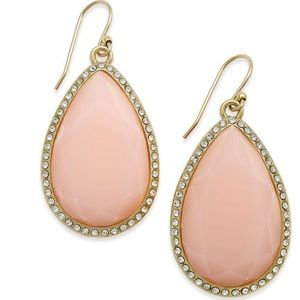 Kate Spade Faceted Teardrop Earrings